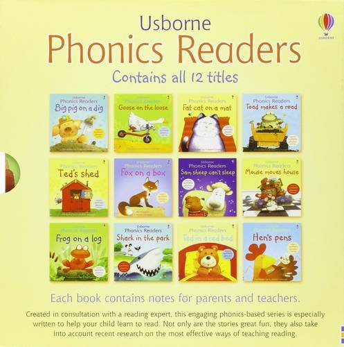 9780746078372: Usborne Phonics Readers - 12 book box set
