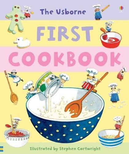 9780746078716: First Cookbook (Usborne First Cookbooks)