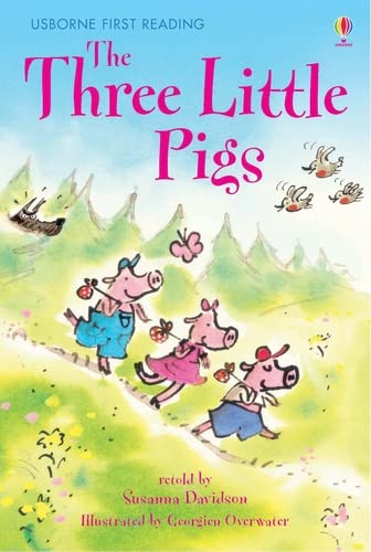 9780746078853: The three little pigs: Level 3 (Usborne First Reading)
