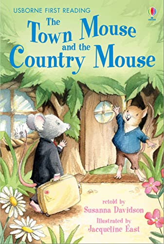 9780746078860: The Town Mouse and the Country Mouse: Level 4 (Usborne First Reading)