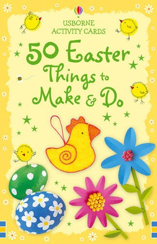 9780746078945: 50 Easter Things to Make and Do (Usborne Activity Cards)