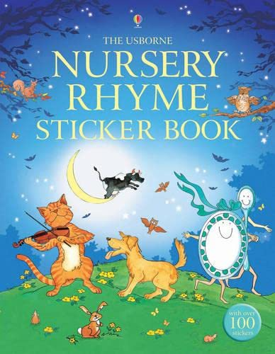Nursery Rhyme Sticker Book (Paperback): Alex Frith