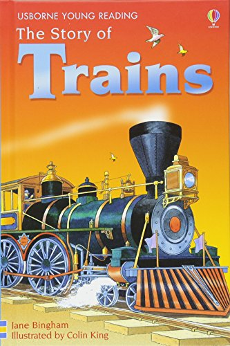 9780746080795: The Story of Trains (Young Reading (Series 2)) (3.2 Young Reading Series Two (Blue))