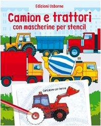 9780746083147: Camion e trattori. Con mascherine per stencil