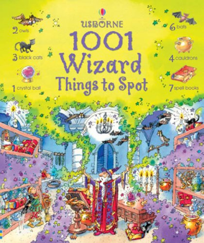 9780746084175: 1001 Wizard Things to Spot (Usborne 1001 Things to Spot)