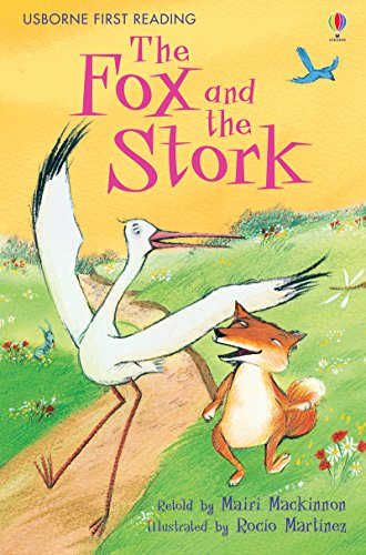 9780746085295: Fox and the Stork (Usborne First Reading)