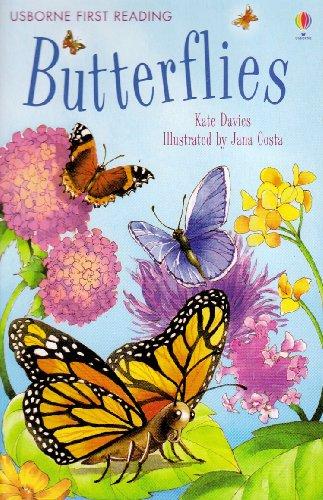 9780746085493: Butterflies (Usborne First Reading)
