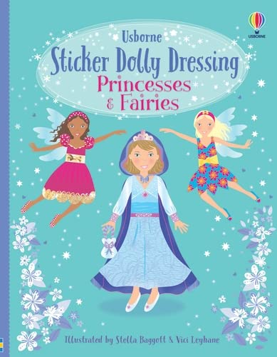 9780746085776: Sticker Dolly Dressing. Princesses and Fairies