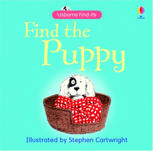 9780746086544: Find the Puppy (Usborne Find It Board Books) (Usborne Find It Board Books)