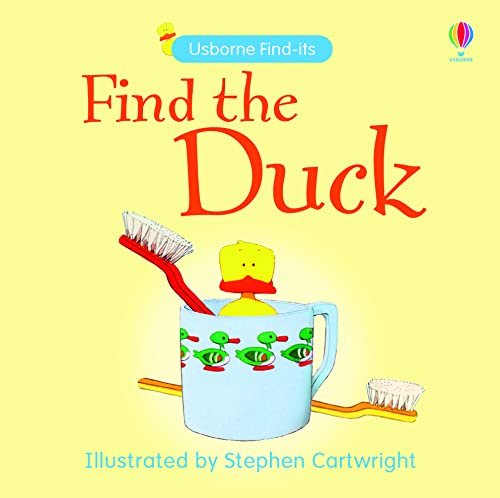 9780746086568: Find the Duck (Usborne Find it Board Books)