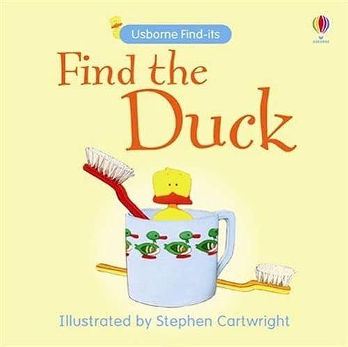 9780746086568: Find the Duck (Usborne Find It Board Books) (Usborne Find It Board Books)