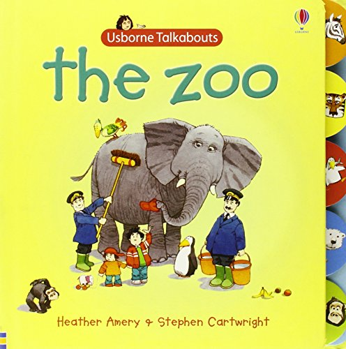 9780746086629: Usborne Talkabout The Zoo (Talkabouts)