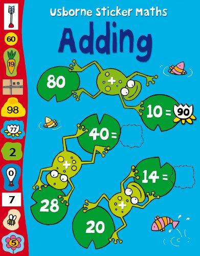 9780746086926: Adding (Usborne Sticker Maths) (Usborne Sticker Maths)