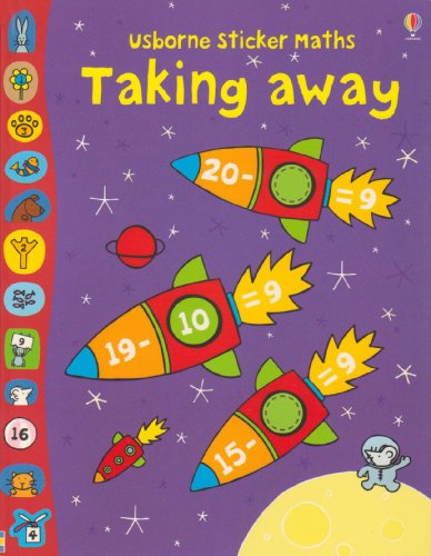 9780746086933: Taking Away (Usborne Sticker Maths) (Usborne Sticker Maths)