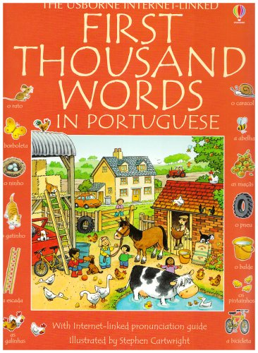 9780746087015: First Thousand Words in Portuguese (First Thousand Words)