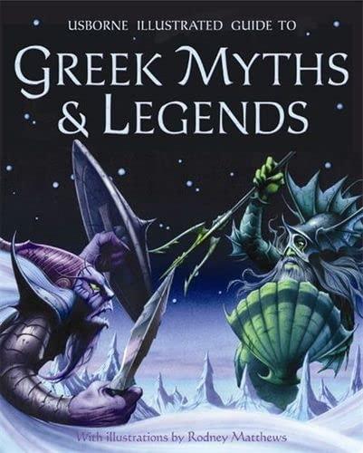 9780746087190: Greek Myths and Legends (Usborne Myths & Legends)