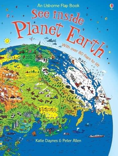9780746087541: See Inside Planet Earth (Usborne See Inside)