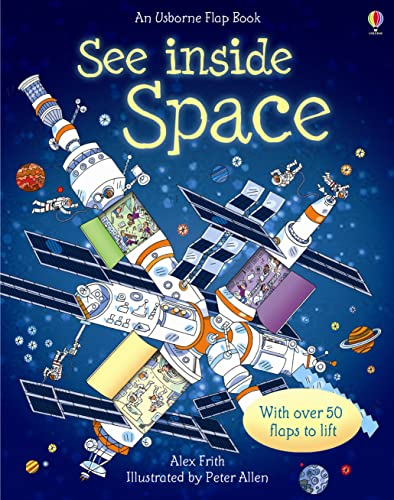 9780746087596: See Inside: Space: With over 50 flaps to lift & a little book of Star Maps (Usborne See Inside)