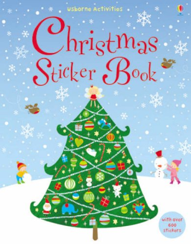 9780746087688: Christmas Sticker Book (Usborne Sticker Books)