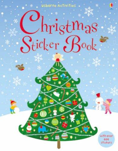 9780746087688: Christmas Sticker Book (Usborne Sticker Books)