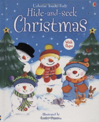 9780746087831: Hide and Seek Christmas, with Flaps (Usborne Touchy-Feely)