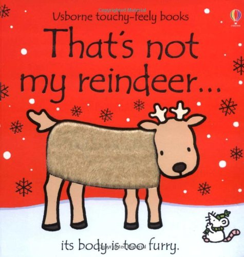 9780746087909: That's Not My Reindeer (Touchy Feely)