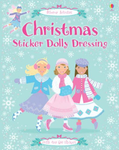 9780746087985: Christmas Dolly Dressing (Sticker Dolly Dressing)