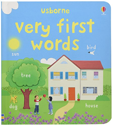9780746088074: Very First Words (Usborne First Words Board Books)