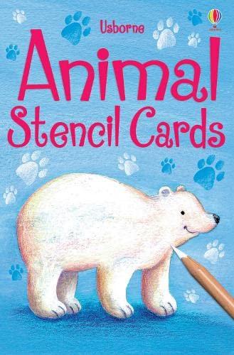9780746088081: Animal Stencil Cards