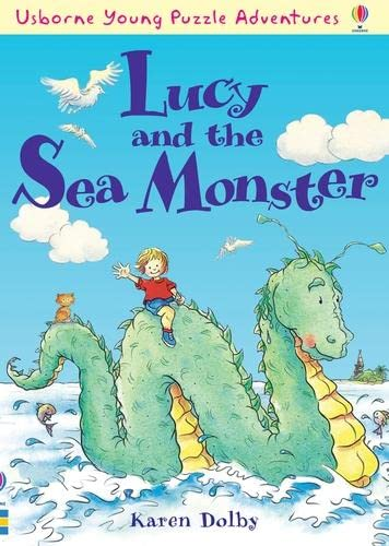 9780746088180: Lucy and the Sea Monster (Usborne Young Puzzle Adventures)