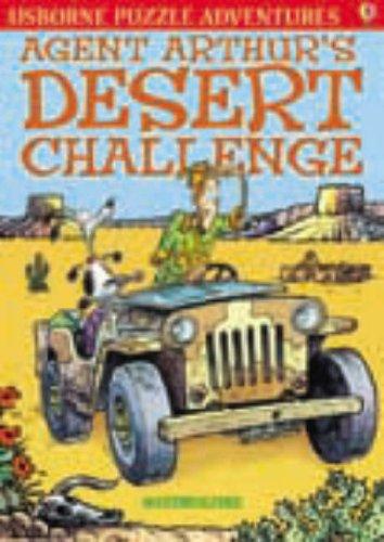 9780746088241: Agent Arthur's Desert Challenge (Usborne Young Puzzle Adventures)