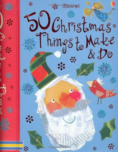 9780746088272: 50 Christmas Things to Make and Do (Usborne Activity Cards)