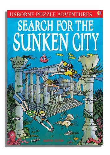 9780746088692: Search for the Sunken City (Puzzle Adventures)