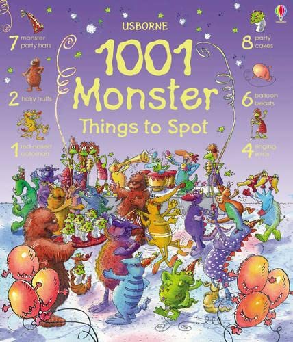 9780746088777: 1001 Monster Things to Spot (1001 Things to Spot)