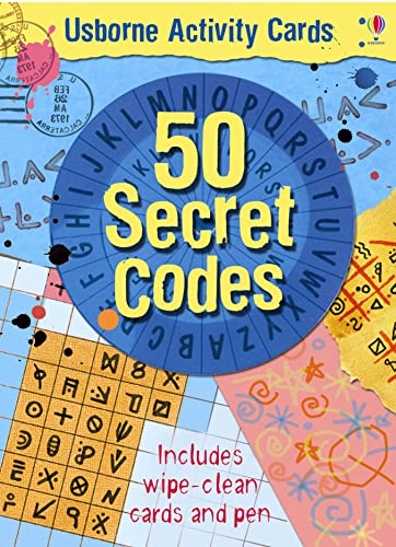9780746089125: 50 Secret Codes (Usborne Activity Cards)