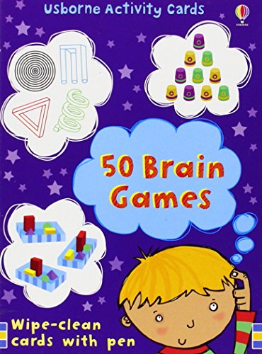 9780746089132: 50 Brain Games (Activity Cards)