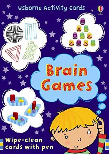 9780746089132: 50 Brain Games (Usborne Activity Cards)