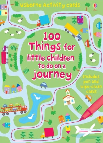 9780746089217: 100 Things for Little Children to Do on a Journey (Usborne Activity Cards)