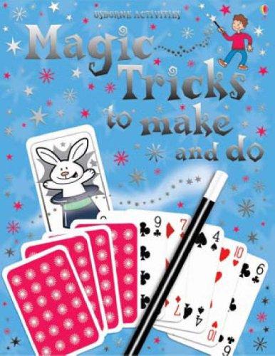 9780746089248: Magic Tricks to Make and Do (Usborne Activities)