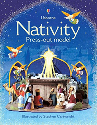 9780746089262: Nativity Press-out Model (Usborne Press-out Models)