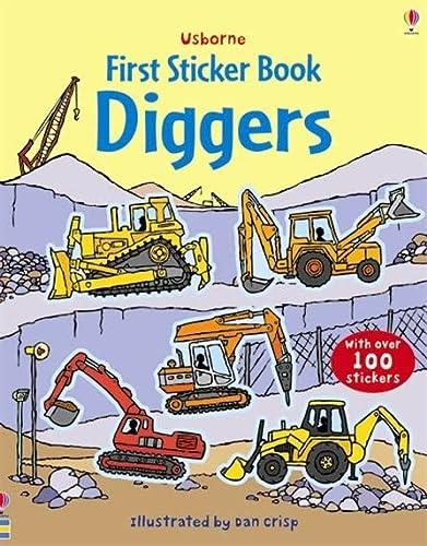 9780746089392: Diggers Sticker Book