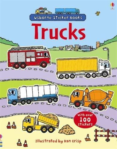 9780746089415: Trucks (Usborne Sticker Books)