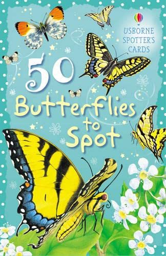 9780746089781: 50 Butterflies to Spot (Spotter's Cards)