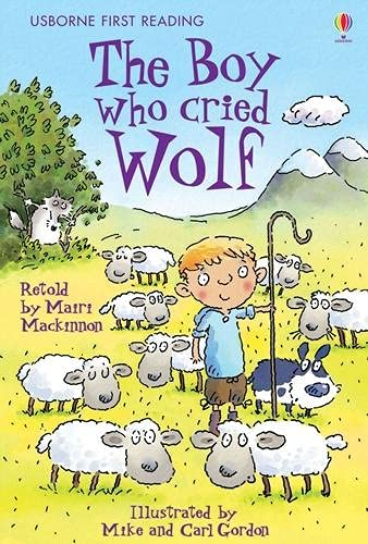 9780746093146: Boy Who Cried Wolf (First Reading Level 3)