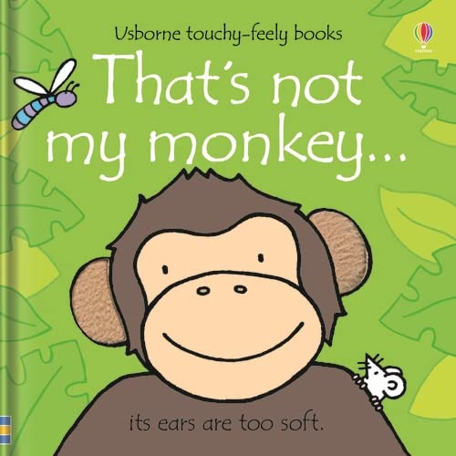9780746093368: That's Not My Monkey... (Usborne Touchy-Feely Books)