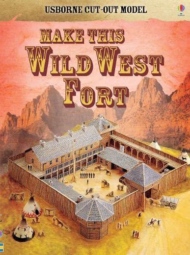 9780746093450: Cut-out Wild West (Usborne Cut-out Models)