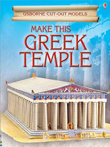 9780746093528: Make This Greek Temple (Usborne Cut Out Models)
