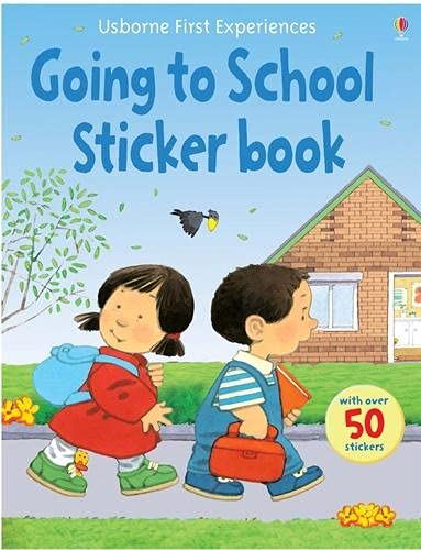 9780746093597: Going to School (Usborne First Experiences)