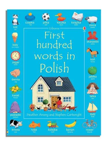 9780746093665: First Hundred Words in Polish (Usborne First Hundred Words)