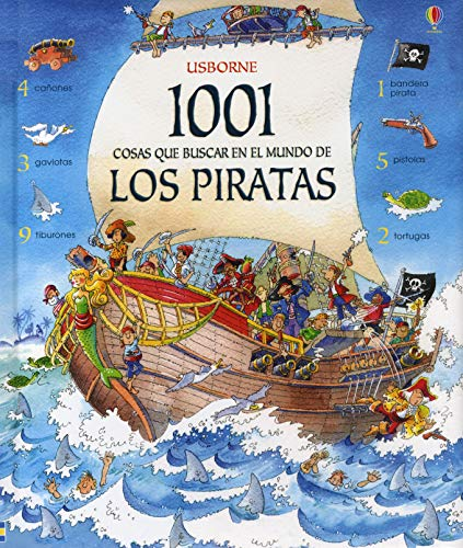 9780746093917: 1001 cosas que buscar en el mundo de los piratas